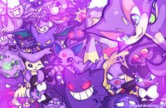 Purple Party by Geegeet.deviantart.com on @DeviantArt