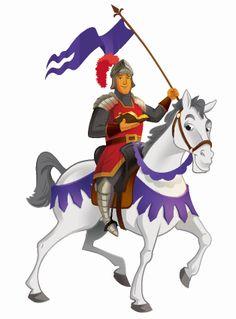 I found this Kingdom Chronicles knight on horseback.