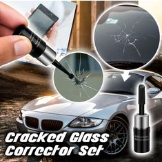Windshield Repair Kit helps you minimize the appearance and stop the spread of chips and cracks in your windshield.Your days of worrying about those cracks in your view are over with this all-new Windshield Repair kit that makes you feel confide. Crack In Windshield, Windshield Repair, Windshield Cover, Car Repair, Cracked Phone Screen, Broken Phone, Auto Glass, Car Glass, Laminated Glass
