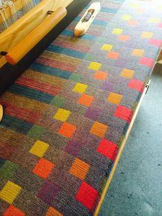 Alice Coppock | double weave | wool | Cardiff, Wales, U.K. | 2014