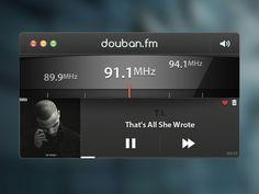 Radio Player - by Luke Zammit | #ui