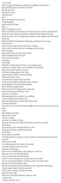 Oh my gosshhh this is the most beautiful thing I have ever read in my whole entire life... I am not even kidding #Relationship