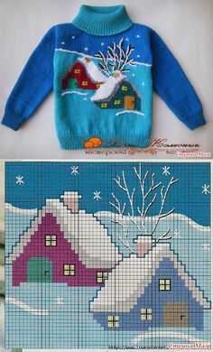 Diy Crafts Knitting For Children Orgu Child Diy 631278072753486759 P Kids Knitting Patterns, Baby Sweater Knitting Pattern, Knit Baby Sweaters, Knitting Charts, Knitting For Kids, Knitting Stitches, Knitting Designs, Crochet Patterns, Free Knitting