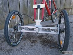 ADDbike bolt on cargo bike conversion.