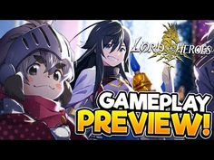 (1) LORD OF HEROES | Gameplay Preview | THIS GAME IS IMPRESSIVE! - YouTube