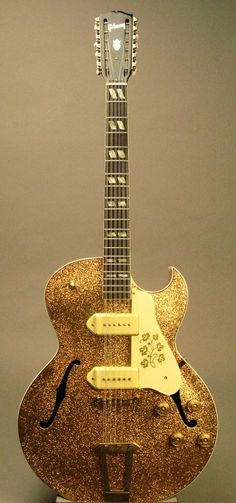 """1950 Gibson ES-175/ES-295 Custom Made 12-String with """"Marty Bell"""" Finish."""