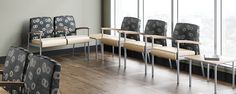 Vista II is one the most popular line of Metal Seating in the STANCE Healthcare line.  Offered in shared frame, flex back Patient room versions, settees, and bench style.