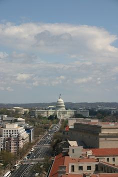 View of Old Post Office Tower - DC with Kids