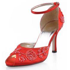 Minitoo Womens Stiletto High Heel Open Toe Handmade Red Satin Evening Party Bridal Bridesmaid Wedding Beading Ankle Strap Shoes Sandals 8 M UK Minitoo,http://www.amazon.com/dp/B00GTP1CS4/ref=cm_sw_r_pi_dp_aKdqtb0EFN2X66JP
