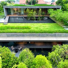 green and modern