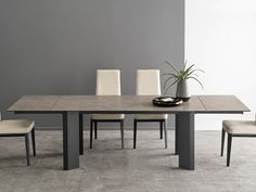 Dining Chairs, Dining Table, Italian Furniture, Furniture Manufacturers, Fashion Room, Wooden Tables, Glass Table, Wood And Metal, Contemporary Furniture