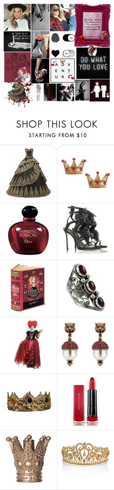 """I found peace in the dark and chaos in the light"" by karabear3256 ❤ liked on Polyvore featuring GET LOST, Disney Couture, Christian Dior, Dsquared2, NOVICA, Gucci, Max Factor and GNBRound5"