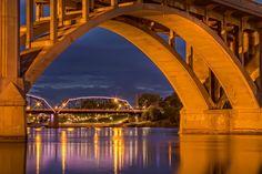 Saskatoon is a city in central Saskatchewan, Canada