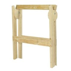 Folding Wood Sawhorse Kit-163392 at The Home Depot