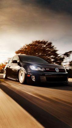 Volkswagen Golf GTI #iPhoneWallpaper