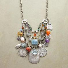 Handcrafted Jes MaHarry Charm Necklace                                              | Robert Redford's Sundance Catalog