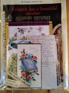 Mixed Media Junk Journals Mixed Lot Of 16 Playing/learning Cards For Ephemera