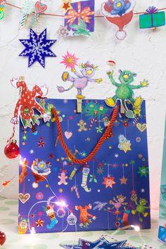 Die bunten, süßen Flusi Weihnachtsklammern lassen sich überall anklammern. Sie verzieren Geschenke und Tüten, eigenen sich zum Fotosaufhängen sowie als...