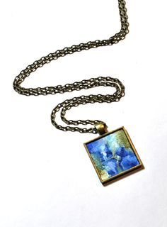 Art Pendant Necklace  Original Painting NOT a by danamarieart