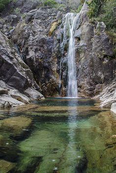 Cascata do Arado, terras de bouro