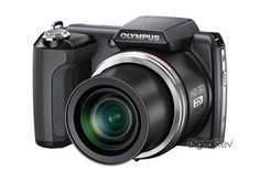 (CLICK IMAGE TWICE FOR DETAILS AND PRICING) Olympus SP-610UZ digital camera. The Olympus SP-610UZ features such as 3.0-inch LCD screen,   14-megapixel CMOS sensor, 22x zoom and 28-616mm wide-angle lens, Face Detection   etc. This new camera of Olympus supports external memory through microSD, SDHC,   an.. . See More Point and Shoot at http://www.ourgreatshop.com/Point-and-Shoot-C121.aspx