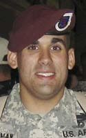 Army Sgt. Benjamin W. Sherman  Died November 10, 2009 Serving During Operation Enduring Freedom  21, of Plymouth, Mass.; assigned to 1st Battalion, 508th Parachute Infantry Regiment, 4th Brigade Combat Team, 82nd Airborne Division, Fort Bragg, N.C.; died Nov. 4 in Bala Murghab, Afghanistan, while participating in a resupply mission.