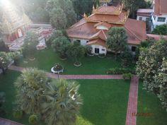Buddha's courtyard