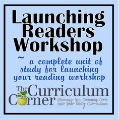 Launching Your Reading Workshop Unit of Study