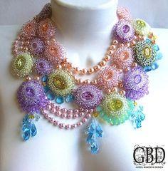 "EyeCandy ""Bead Jewelry Designed by Guzel Bakeeva -GBD"" featured in Bead-Patterns.com Newsletter!"