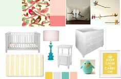baby girl room inspiration