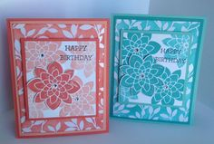 Crazy About You and Sale-a-Bration resist paper