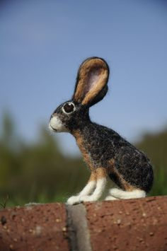 I can create needle felted custom sculptures of any pet - for example my Mad March Hare https://www.etsy.com/uk/listing/187732068/custom-mad-march-hare-needle-felted-hare?ref=shop_home_active_15