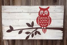 """These signs are hand-painted and made from reclaimed old fence pickets. They make perfect wedding/anniversary gifts, birthday gifts, or add a personal touch to your home!   Because each piece is hand made there will be some variances between each, but they will be very minor. I can make them with any color/script variations that you prefer, or as large or small as you need.  - Approx. Size: 18"""" tall x 30"""" wide  - Hand Painted with Acrylic Paint  - Comes Ready to Hang"""