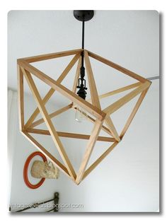 DIYs worth doing :: great DIY lighting projects. Found a tutorial.