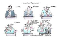 Senator Cruz's Tedamorphosis