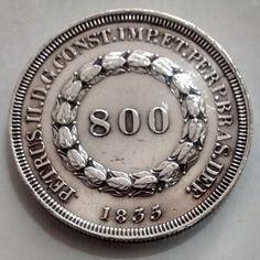 BRASIL 1835 800 RÉIS rara MBC..