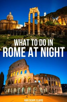 Want to travel the world without the need of breaking the bank? Read this epic list from the 20 cheapest countries in 2020 for an exciting vacation. 2 Weeks In Italy, 2 Days In Rome, Rome At Night, Italy Travel Tips, Rome Travel, Travel Destinations, Travel List, Travel Europe, Barbados