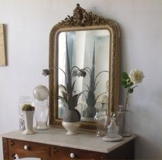 French mirror.