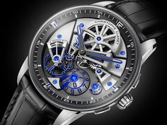 The new Christophe Claret Maestro watch with images, price, background, specs, & our expert analysis.