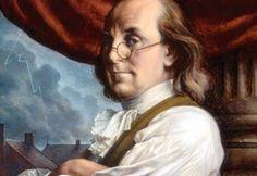 """""""Aquí yace el cuerpo de Benjamin Franklin, Impresor. Como las tapas de un libro viejo, con su contenido arrancado y despojado de sus títulos y adornos. Mas la obra no se perderá; pues como él creía, aparecerá de nuevo en una edición nueva y más elegante, corregida y mejorada por el Autor"""".  Epitafio en la tumba de Benjamin Franklin (1706-1790) Político, científico, inventor e impresor estadounidense."""