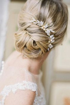 romantic bridal updos wedding hairstyles twisted updo blond hair caitlynmeyermua