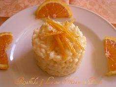 Risotto all'arancia,ricetta delicata