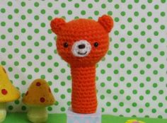 ☆★送料込みのお値段です★☆あみぐるみのゆび人形です(*^-^*)おもちゃとしてはもちろん、ペン立てのえんぴつに飾ってもかわいいです♡洗える毛糸を使用したので...|ハンドメイド、手作り、手仕事品の通販・販売・購入ならCreema。