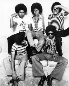 The Jacksons: Michael, Tito, Marlon Jackie, and Randy