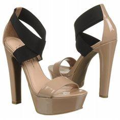 Jessica Simpson Pattina Shoes (Nude/Black) - Women's Shoes - 7.5 M