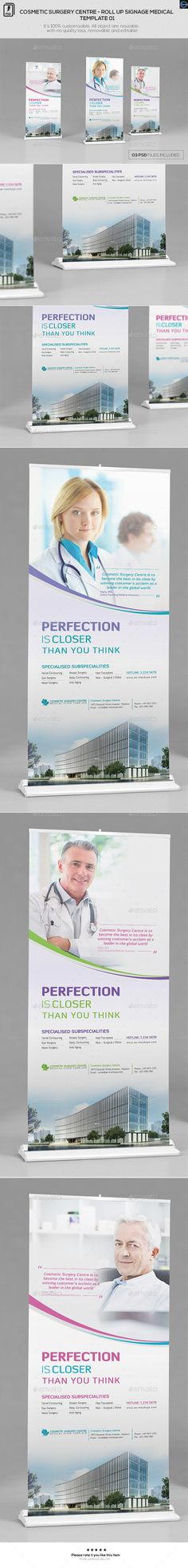 Cosmetic Surgery Centre-RollUp Medical Template 01