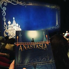 After many years of waiting, I'm so ready to go on this Journey to the Past #hartfordstage #anastasiamusical #CRYING