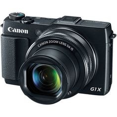 Canon PowerShot G1 X Mark II Digital Camera (for situations when a DSLR is not convenient)