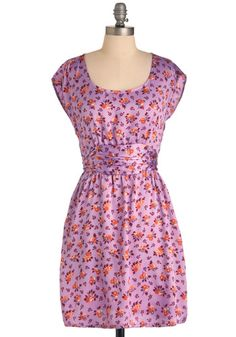 Falling in Lavender Dress, #ModCloth