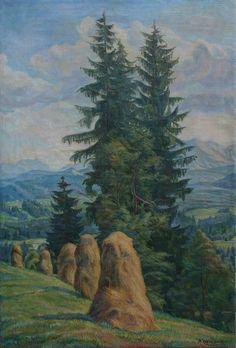 """""""Haystacks"""" by Wlodzimierz Herczak '1954"""